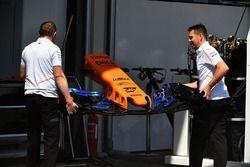 McLaren MCL33 nariz y ala delantera