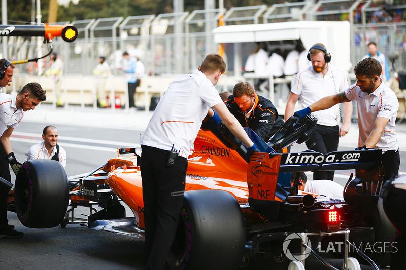 Los ingenieros de McLaren devuelven a Fernando Alonso, McLaren MCL33 Renault