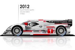 2012 Audi R18 e-tron quattro