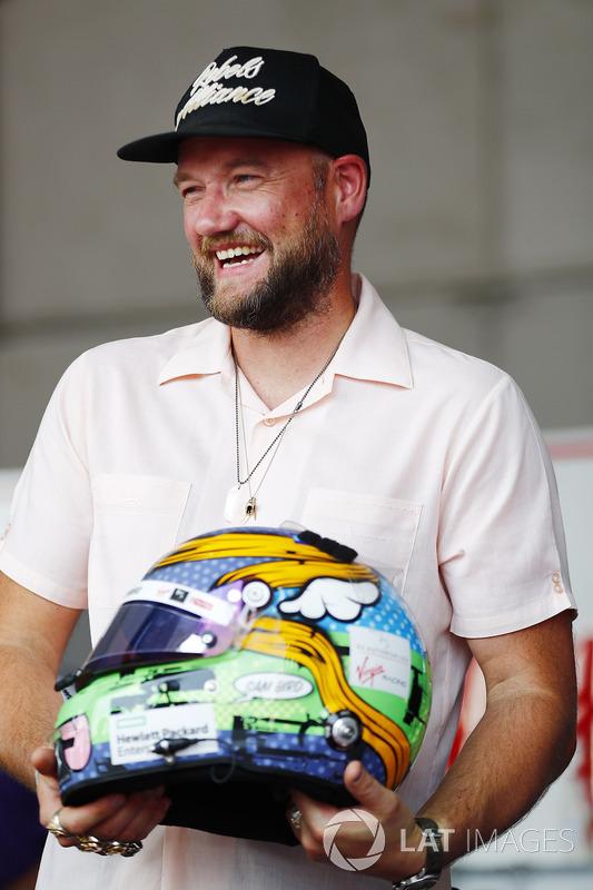 Stock car driver Dale Earnhardt Jr