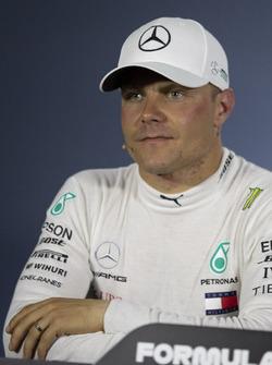 Valtteri Bottas, Mercedes-AMG F1 in de persconferentie