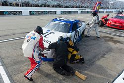 Kaz Grala, Fury Race Cars LLC, Ford Mustang IT Coalition/15-40.org makes a pit stop, Sunoco