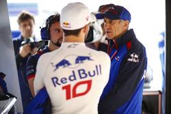 Pierre Gasly, Toro Rosso ve Franz Tost, Takım Patronu, Toro Rosso