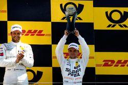 Podio: il terzo classificato Lucas Auer, Mercedes-AMG Team HWA