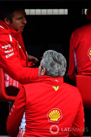 Pórtico de pared de pozo de Ferrari