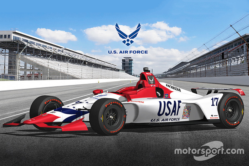 Anuncio Dale Coyne Racing with Thom Burns Racing