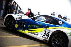Anna Walewska, Callum Hawkins-Row Team HARD. Racing Ginetta G55 GT4