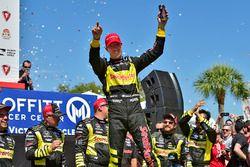 Ganador, Sébastien Bourdais, Dale Coyne Racing with Vasser-Sullivan Honda