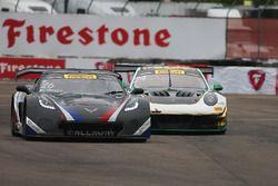 #26 Callaway Competition USA Chevrolet Corvette C7 GT3-R: Daniel Keilwitz, #24 Alegra Motorsports Po