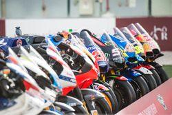Alineación de motos de MotoGP