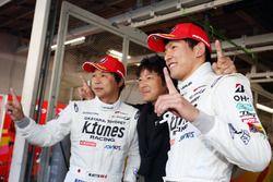 GT300 polesitters #96 K-Tunes Racing LM Corsa Lexus RC F GT3: Yuichi Nakayama, Morio Nitta