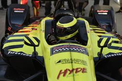 Polesitter Sébastien Bourdais, Dale Coyne Racing with Vasser-Sullivan Honda