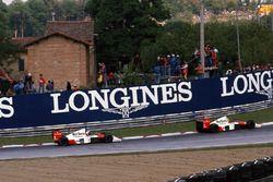 Ayrton Senna, McLaren MP4/5, Alain Prost, McLaren MP4/5