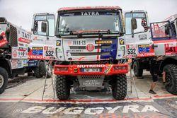 #532 Tatra Buggyra Racing: Martin Soltys, Tomas Sikola, Josef Kalina