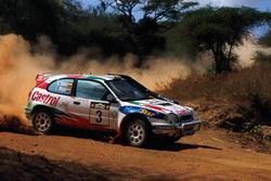 Carlos Sainz, Luis Moya, Toyota Corolla WRC