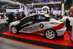 Corbeau rallywagen tentoongesteld