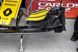 Renault Sport F1 Team RS 18 detalle del ala frontal