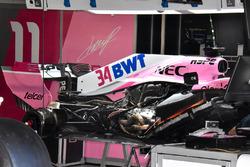 Detalle de la suspensión trasera Force India VJM11