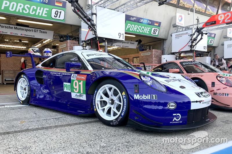 #91 Porsche GT Team Porsche 911 RSR with special livery
