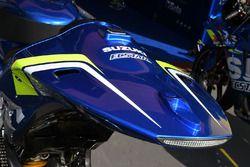 Une moto du Team Suzuki MotoGP