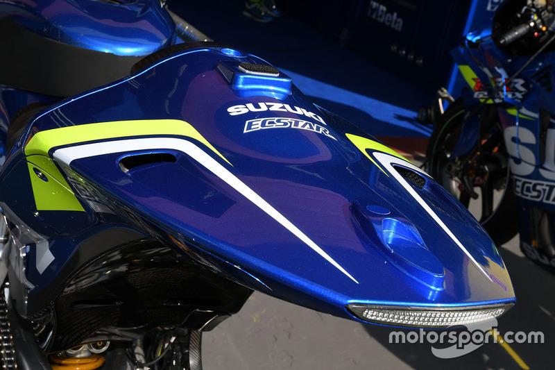 Team Suzuki MotoGP bike detail