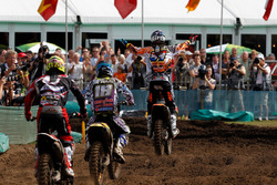 Jeffrey Herlings, Red Bull KTM Factory Racing, pakt de overwinning in Lierop (2012)