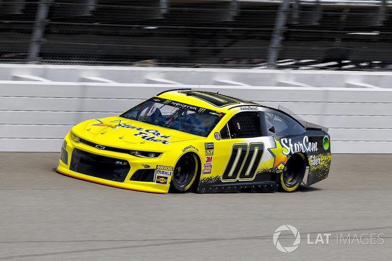 36. Landon Cassill, StarCom Racing, Chevrolet Camaro StarCom Fiber