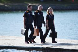 Christian Horner, director del equipo Red Bull Racing y Adrian Newey, Red Bull Racing