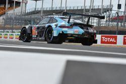 Автомобиль Porsche 911 RSR (№77) команды Dempsey-Proton Racing