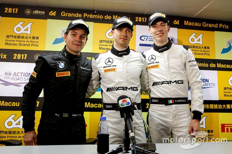 Press Conference, Augusto Farfus, BMW Team Schnitzer, BMW M6 GT3, Edoardo Mortara, Mercedes-AMG Team