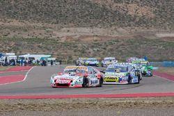 Sergio Alaux, Donto Racing Chevrolet, Julian Santero, Coiro Dole Racing Torino, Diego De Carlo, Jet Racing Chevrolet