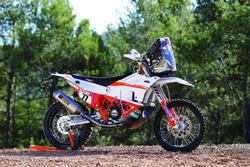 La moto de Luciano Benavides, KTM