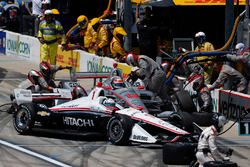 Will Power, Team Penske Chevrolet au stand