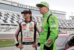 Kyle Busch, Joe Gibbs Racing, Toyota Camry Interstate Batteries Erik Jones, Joe Gibbs Racing, Toyota Camry buyatoyota.com