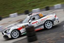Роберт Лумини и Клаудио Куарантани, 124 Abarth Rally