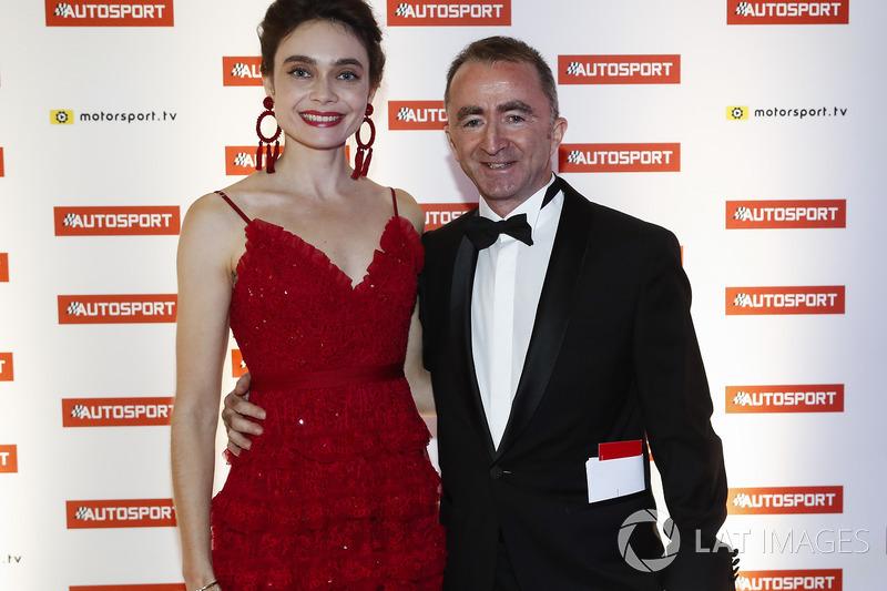 Paddy Lowe, Williams Martini Racing Formula 1 y su mujer