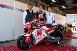 Такааки Накагами представляет ливрею мотоцикла следующего сезона