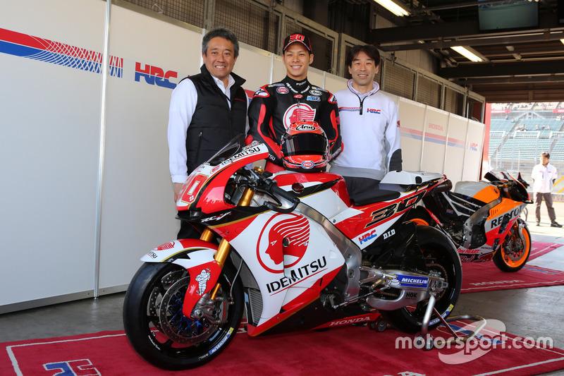 中上貴晶、来季MotoGPで使用するカラーリングを発表
