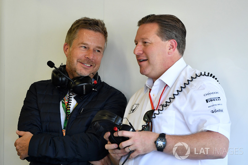 Zak Brown, McLaren Director ejecutivo