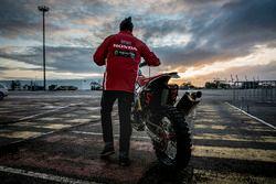 Monster Energy Honda Team hazırlıkları