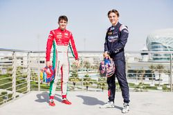 Charles Leclerc, PREMA Powerteam and Artem Markelov, RUSSIAN TIME
