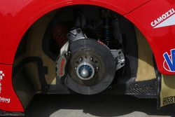 Un disque de frein de Ferrari