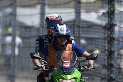 Xavi Vierge, Dynavolt Intact GP after the crash
