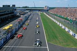 El inicio del GP de Gran Bretaña