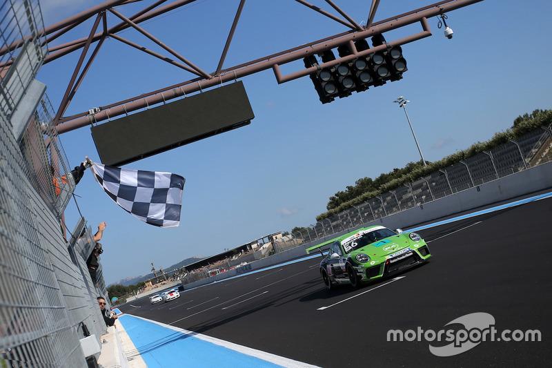 Niccolo Mercatali, Dinamic Motorsport, prende la bandiera a scacchi