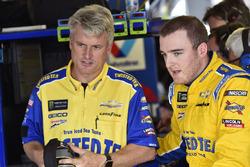Ty Dillon, Germain Racing, Chevrolet Camaro Twisted Tea and Matt Borland