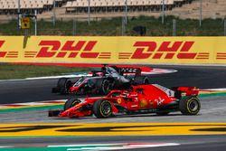 Sebastian Vettel, Ferrari SF71H, va largo