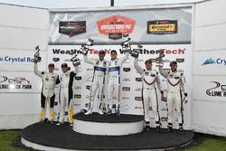 #3 Corvette Racing Chevrolet Corvette C7.R, GTLM: Antonio Garcia, Jan Magnussen, #66 Chip Ganassi Racing Ford GT, GTLM: Dirk Muller, Joey Hand, #912 Porsche Team North America Porsche 911 RSR, GTLM: Laurens Vanthoor, Earl Bamber