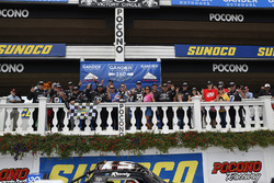 Kyle Busch, Kyle Busch Motorsports, Toyota Tundra Cessna, victory lane, celebration