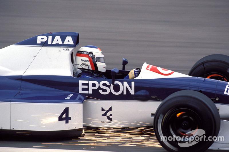 Jean Alesi, Tyrrell